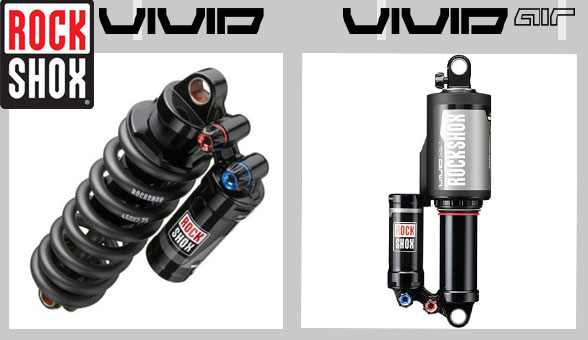 NEW 2015 rockshox Vivid coil & Vivid Air rear shocks from Sussed Out Suspension! Rockshox stockist & service centre!