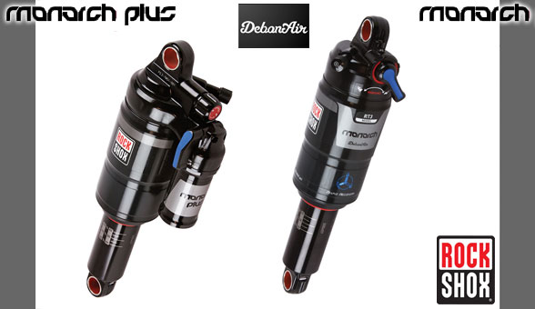 2015 Rockshox Monatch & monarch Plus DebonAir !