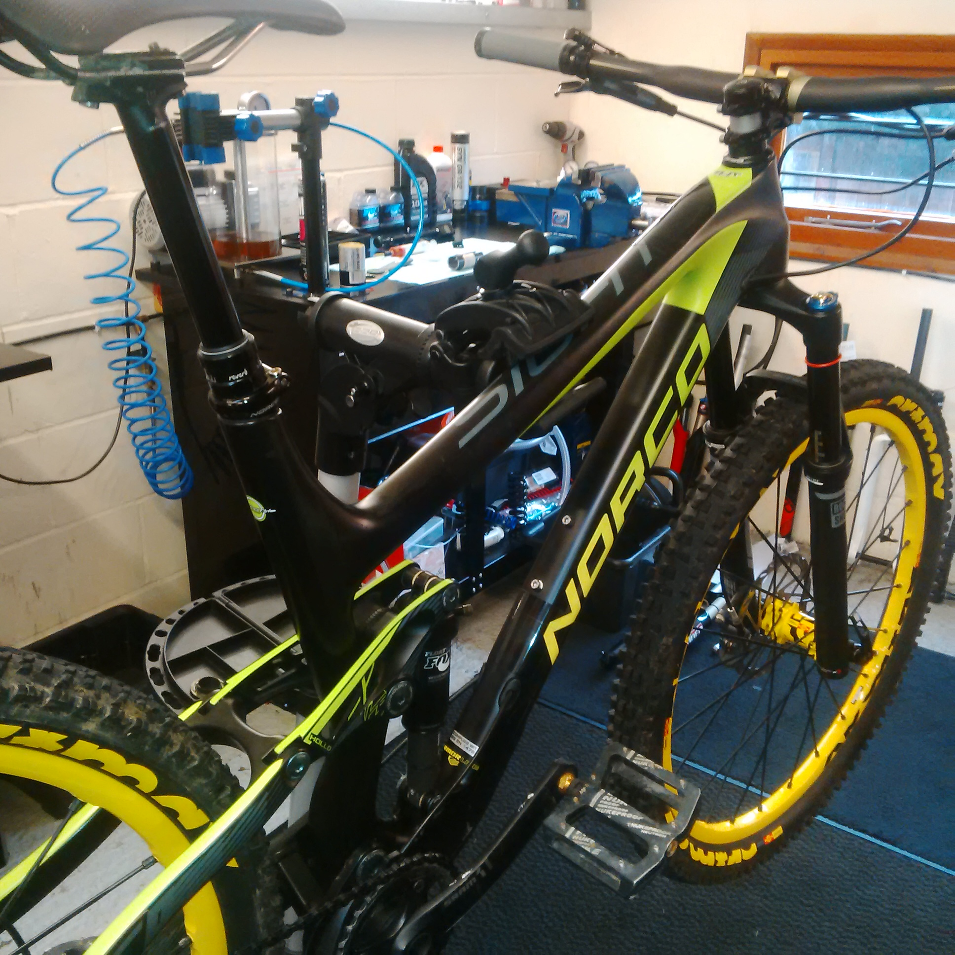 MTB bike servicing from Sussed Out Suspension
