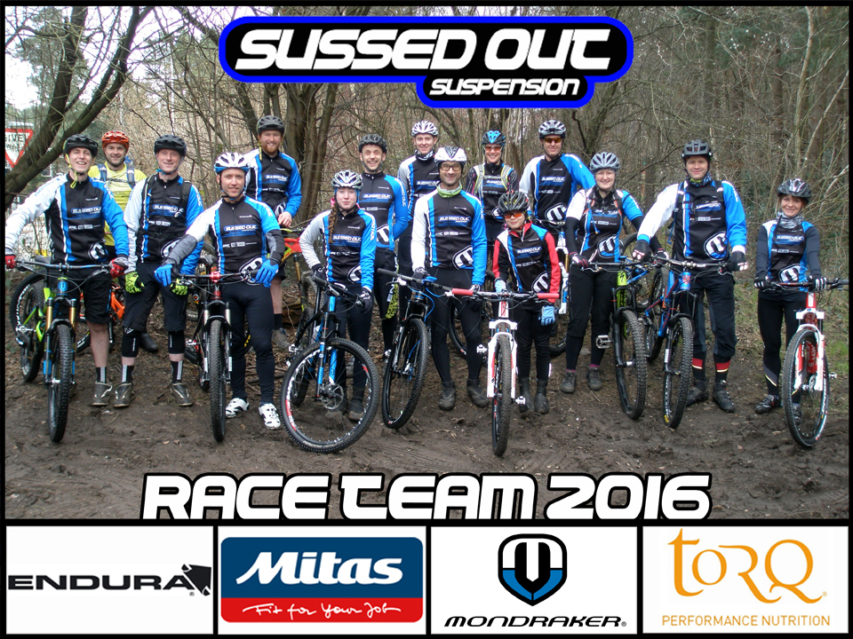 Sussed Out Race Team 2016