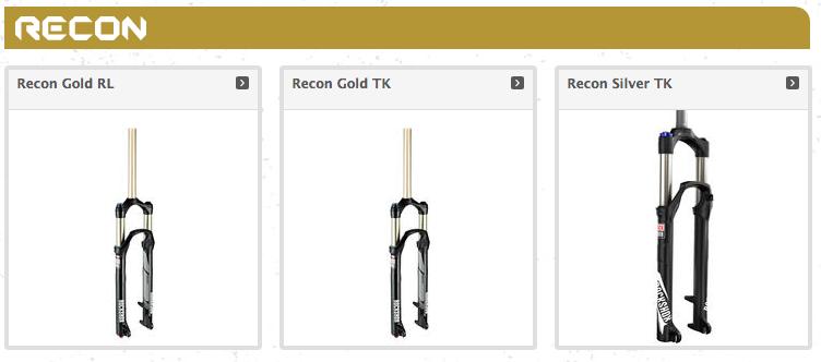 ROCKSHOX RECON GOLD