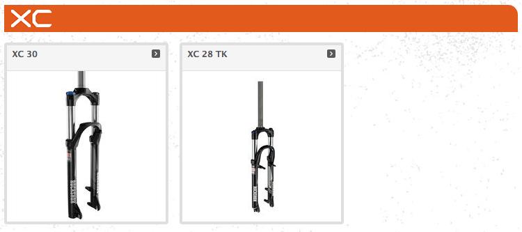 ROCKSHOX XC30 & XC28