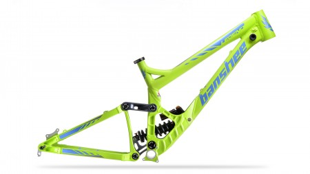 2016 Banshee Legend Frame - lime