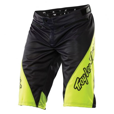 TLD Flo Yellow Sprint Shorts