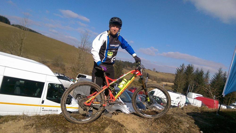 Dan Sibbick - Crychan Forest UK Gravity Enduro